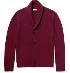 John Smedley - Patterson Shawl-Collar Merino Wool and Cashmere-Blend Cardigan