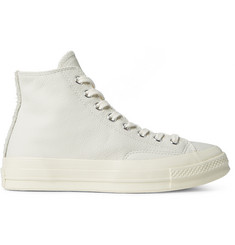 Converse 1970s Chuck Taylor All Star Leather and Suede High-Top Sneakers