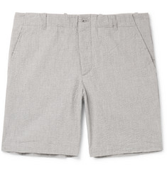 Freemans Sporting Club Cotton-Seersucker Shorts