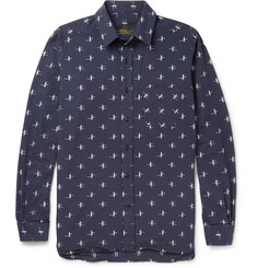 Freemans Sporting Club Patterned Cotton Shirt