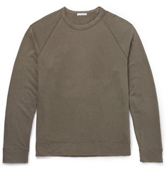James Perse Loopback Pima Cotton-Jersey Sweatshirt