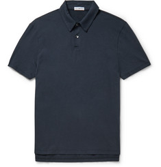 James Perse Slim-Fit Cotton-Jersey Polo Shirt