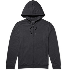Derek Rose Marlowe Stretch Micro Modal Jersey Zip-Up Hoodie