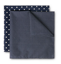 Derek Rose - Two-Pack Cotton Handkerchiefs