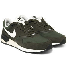 Nike - Air Odyssey Leather, Mesh and Nubuck Sneakers