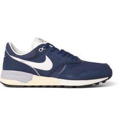 Nike Air Odyssey Leather, Mesh and Nubuck Sneakers