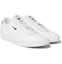 Nike - Match Classic Perforated Leather Sneakers