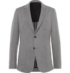 AMI Unstructured Stretch-Wool Suit Jacket