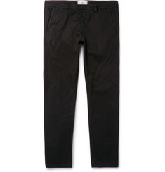 AMI Slim-Fit Cotton-Gabardine Chinos