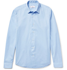 AMI - Slim-Fit Cotton-Poplin Shirt