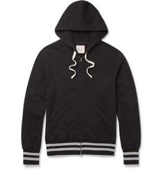 Todd Snyder + Champion Slim-Fit Loopback Cotton-Jersey Zip-Up Hoodie