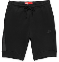 Nike - Slim-Fit Cotton-Blend Tech-Fleece Shorts