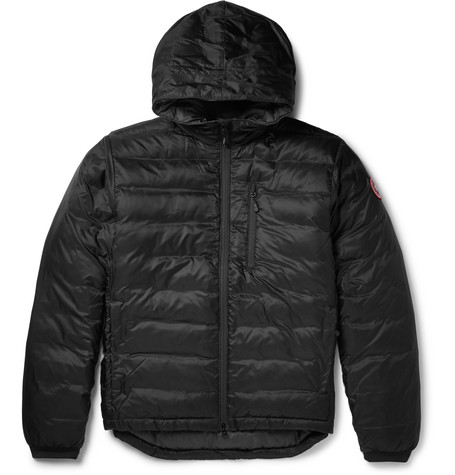 Lodge Packable Quilted Ripstop Shell Hooded Down Jacket by Canada Goose