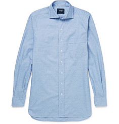 Drake's - Slub Cotton Shirt