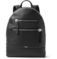 Mulberry Pebble-Grain Leather Backpack