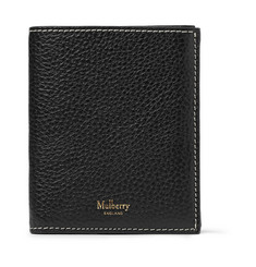 Mulberry Full-Grain Leather Trifold Wallet
