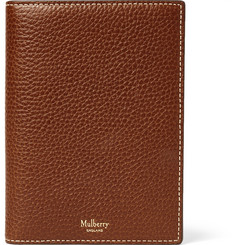 Mulberry - Full-Grain Leather Passport  Cover
