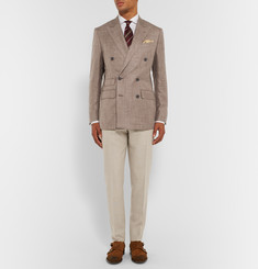 Thom Sweeney - Slim-Fit Wool Trousers