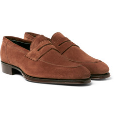 Kingsman - + George Cleverley Newport Suede Loafers