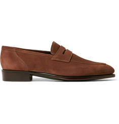 Kingsman + George Cleverley Newport Suede Loafers