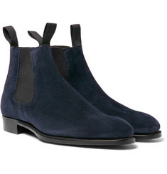 Kingsman - + George Cleverley Robert Suede Chelsea Boots