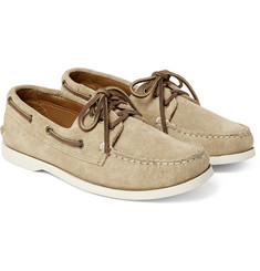 Quoddy - Downeast Suede Boat Shoes