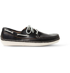 Quoddy Moc II Leather Boat Shoes