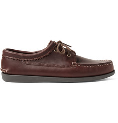 Quoddy Leather Derby Shoes