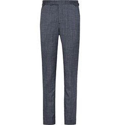 Richard James - Blue Seishin Slim-Fit Wool and Silk-Blend Suit Trousers