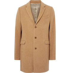 Folk Wool-Blend Overcoat