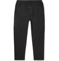 Folk Slim-Fit Drawstring Cotton-Corduroy Trousers