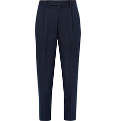 Folk - Relaxed-Fit Cotton-Blend Twill Trousers