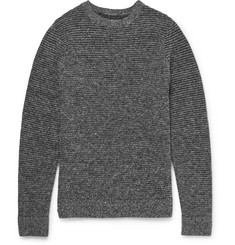 Folk Ribbed Wool-Blend Sweater