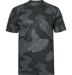 BURTON Camouflage-Print Power Grid® Stretch-Jersey Base Layer