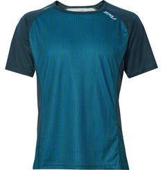 2XU ICE-X Panelled Printed Jersey T-Shirt