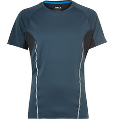 2XU Thermal Active Panelled Mesh Running T-Shirt