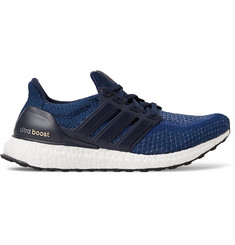 Adidas Sport Ultra Boost Rubber-Trimmed Primeknit Sneakers