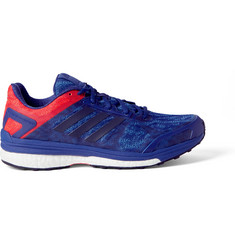 Adidas Sport - Supernova Sequence 9 Rubber-Trimmed Mesh Running Sneakers