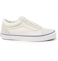 Vans - Old Skool Canvas And Suede Sneakers