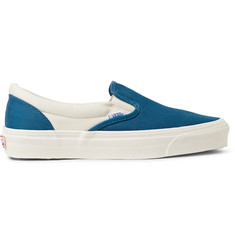 Vans OG Classic LX Two-Tone Canvas Slip-On Sneakers