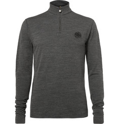 Iffley Road Thorpe Merino Wool Half-Zip Sweater