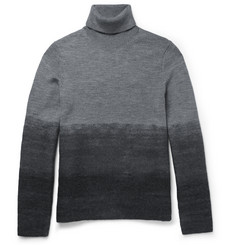 Michael Kors - Slim-Fit Dégradé Wool Rollneck Sweater