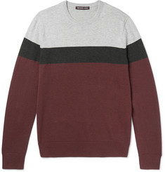 Michael Kors Striped Wool-Blend Sweater