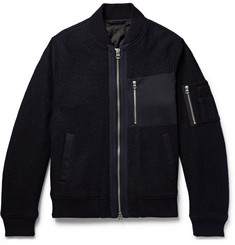 Gant Rugger Wool Bomber Jacket