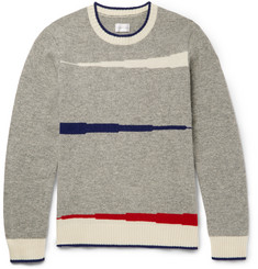 Gant Rugger Varsity Intarsia Wool Sweater