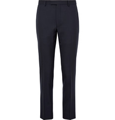 Gant Rugger Blue Smarty Slim-Fit Wool-Hopsack Suit Trousers