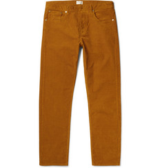Gant Rugger Slim-Fit Stretch-Cotton Corduroy Trousers