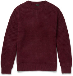 J.Crew Seed-Stitch Cotton Sweater