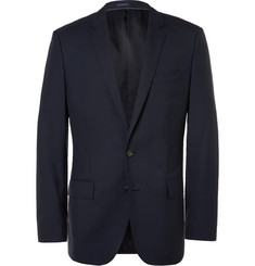 J.Crew Navy Ludlow Slim-Fit Wool Suit Jacket