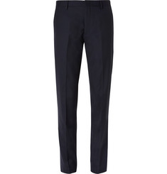J.Crew Navy Ludlow Slim-Fit Wool Suit Trousers